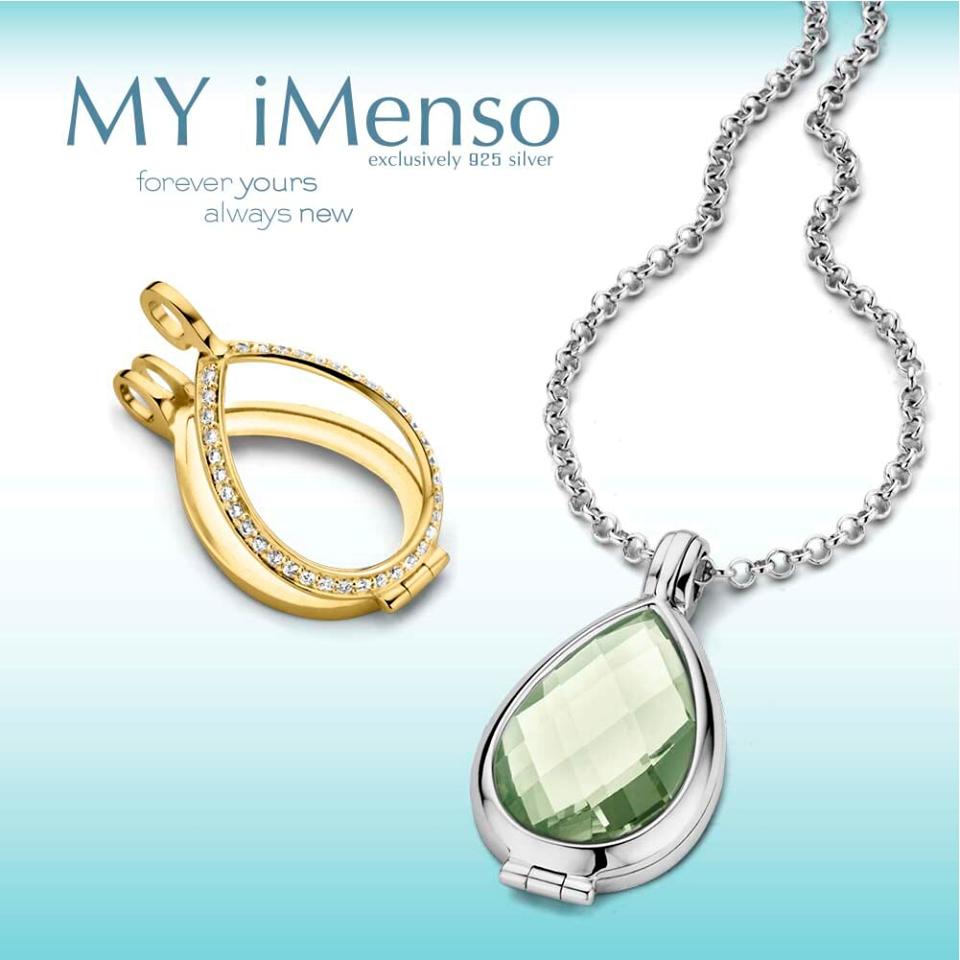 Zilveren croelen van MY iMenso Goccia