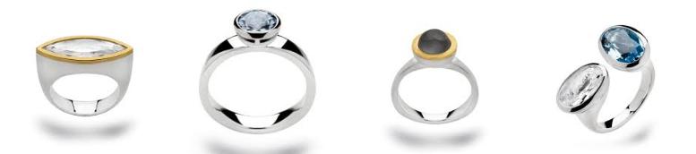Ringen ruim 1100 ringen bij Zilver.nl Juwelier