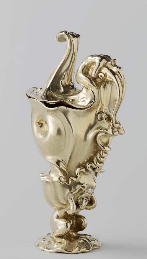 Verguld zilveren kan uit 1614 Kennisbank Zilver.nl