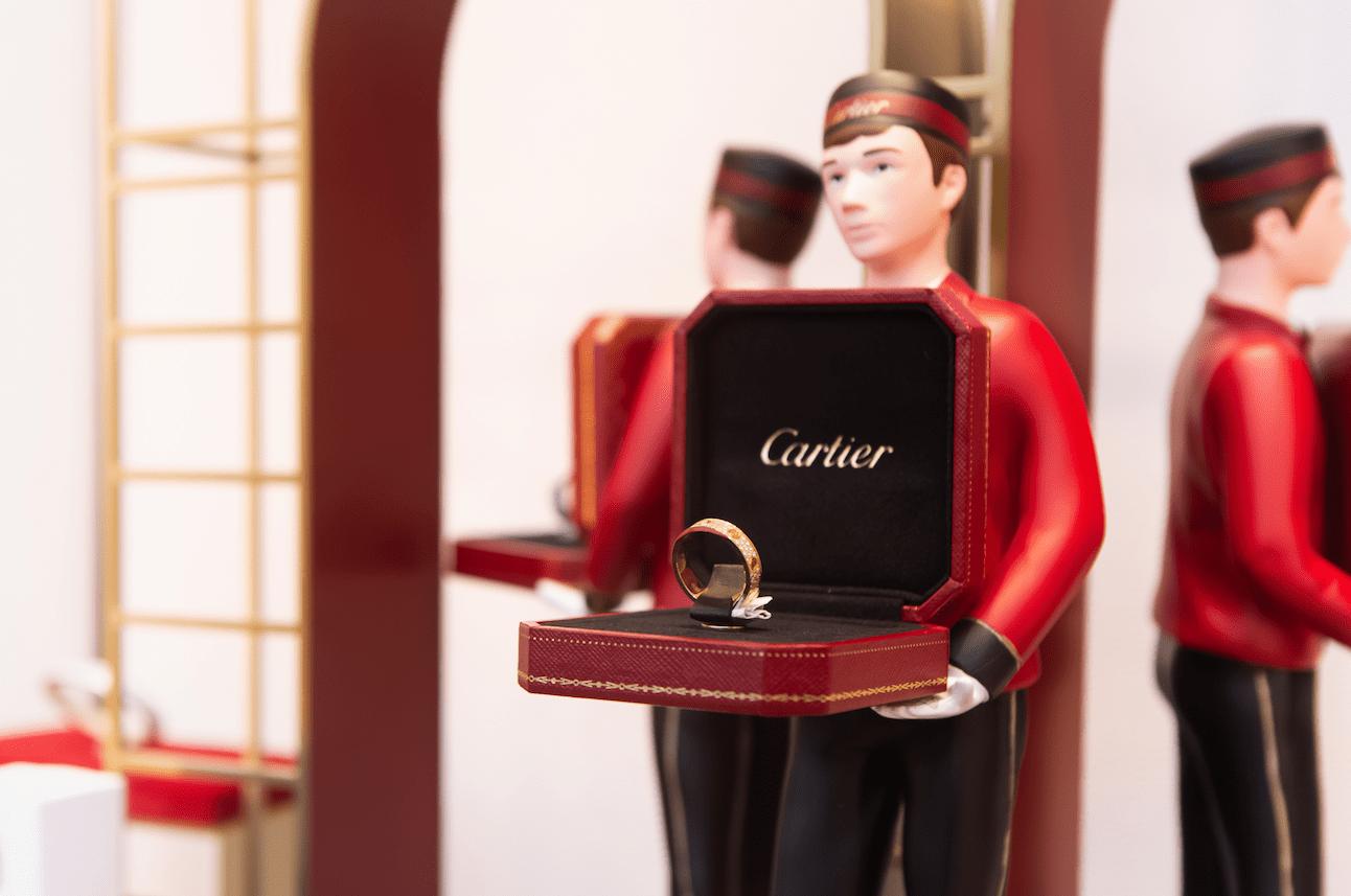 Juwelendoosje van Cartier bij Kennisbank Zilver.nl
