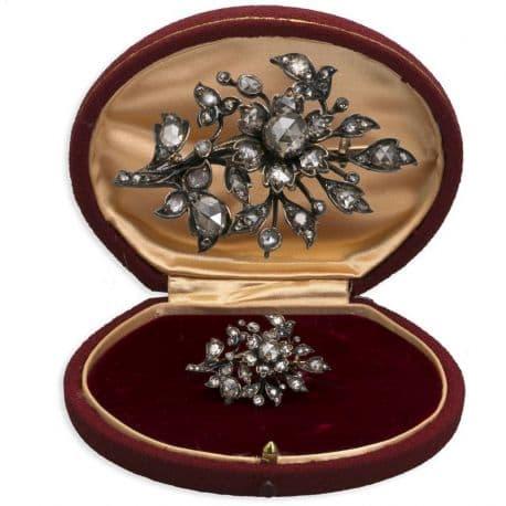 Antieke gouden takbroche bij juwelier antiquair Zilver.nl