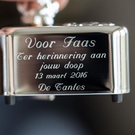 Graveren muziekdoosje door Zilver.nl