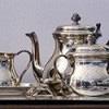 antiek zilver voor op tafel