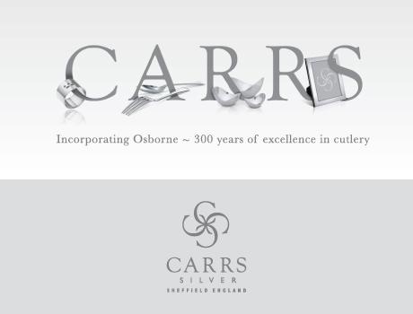 Zilveren kandelaar van Carrs