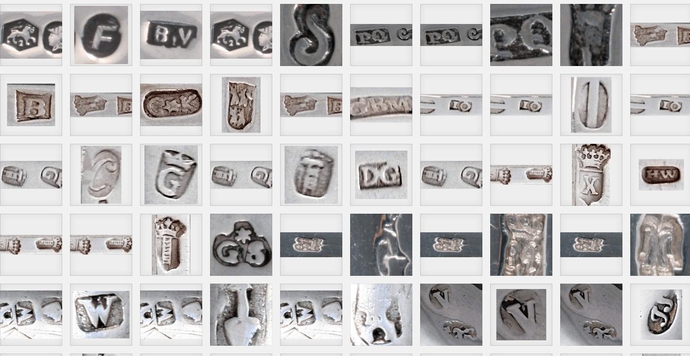 meestertekens op zilver en goud in de kennisbank van Zilver.nl