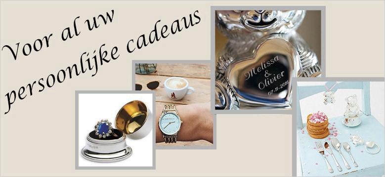 Sieraden, horloges, zilveren geboortecadeaus, zilver bestek, juwelier online